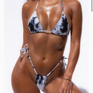 Goldie Swimwear Tie Dye Bikini
